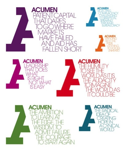Acumen manifestos