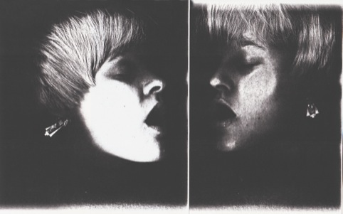 Chel White's photocopied face