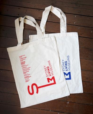 SLM tote bags
