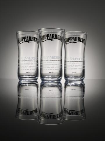 ButterflyCannon Kopparberg glasses