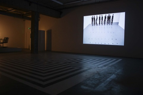 One of the films shown in the space