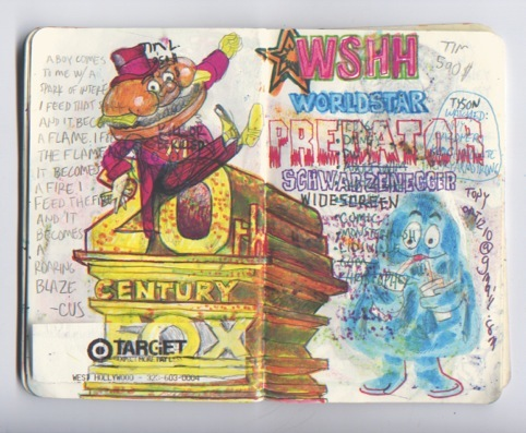JJ Villard's doodling