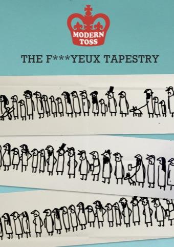 Modern Toss, Fyeux Tapestry