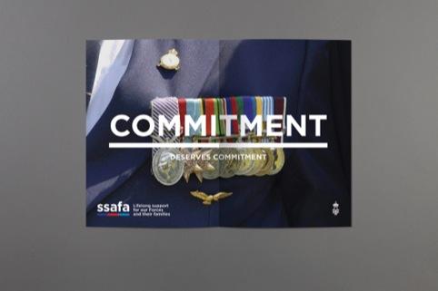 SSAFA magazine advert