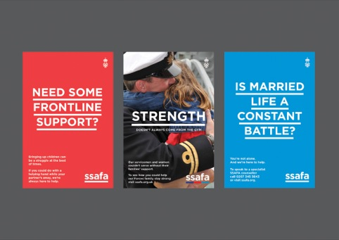 SSAFA posters