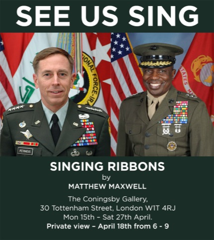 Singing Ribbons flyer