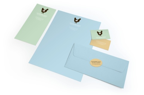 Handpecked stationery