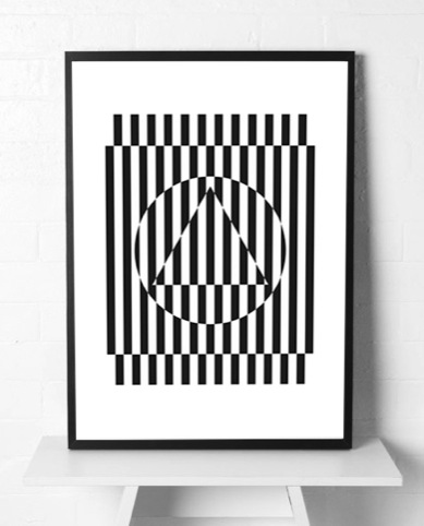 Patternity Studio Sunstripe Powerprint