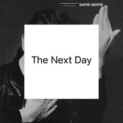 The cover of David Bowie's The Next Day