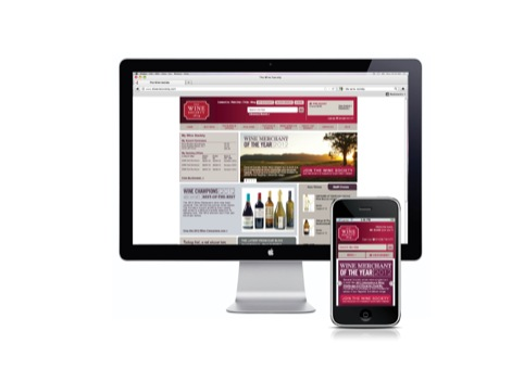 The Wine Society website