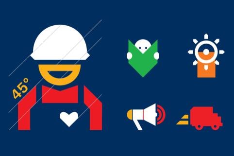 British Safety Council icons