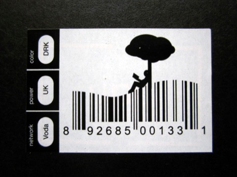 Amazon Kindle barcode