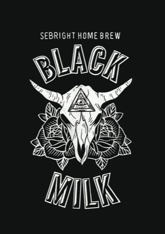Sebright Home Brew Black Milk design by Vagabond Tattoos