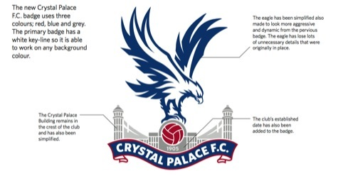 The new crest