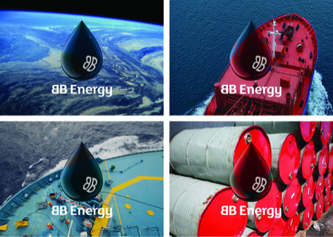 BB Energy identity shown on different backgrounds