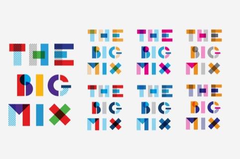 Different logo colourways