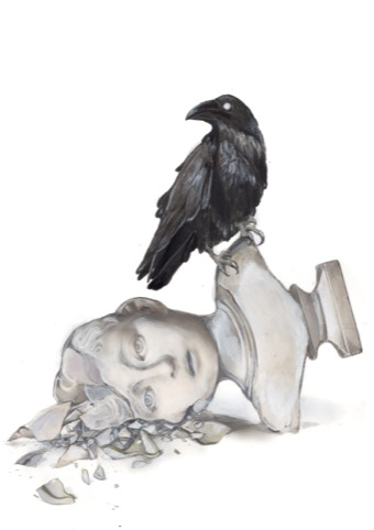 Edgar Allan Poe Raven