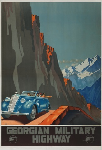 Aleksander Zhitomirsky, Georgian Military Highway 1939