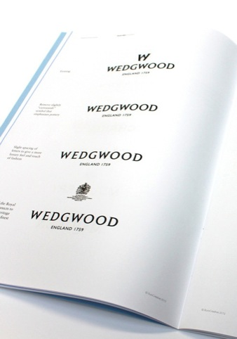 Historical development of the Wedgwood logo