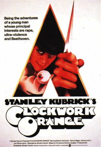 Final poster for Clockwork Orange