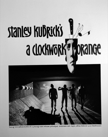 Alternate poster for Clockwork Orange