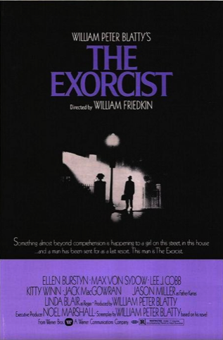 Final poster for The Exorcist