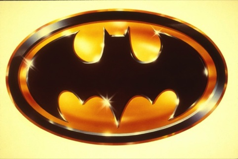The Batman logo - used on the finalised poster