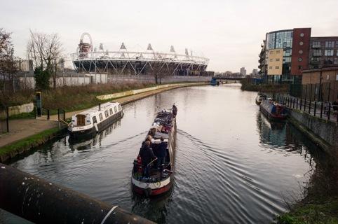 Ben's narrowboat, London