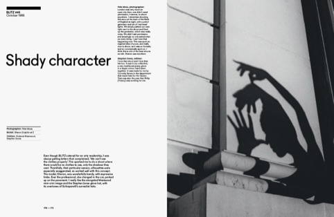Shady character spread 1986