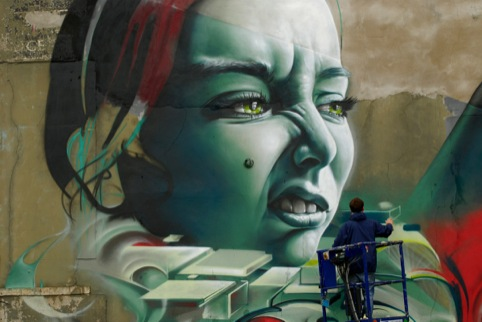 Smug and Epok at Upfest 2012