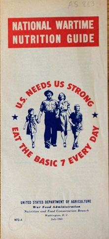 US War Food Administration pamphlet