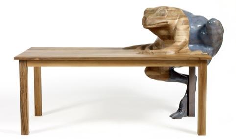 Hella Jongerius's Frog Table