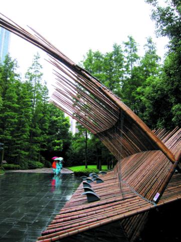 Bamboo pavilion Shanghai