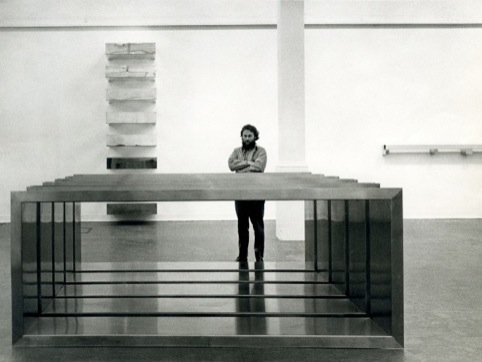Donald Judd at Whitechapel Gallery, 1970