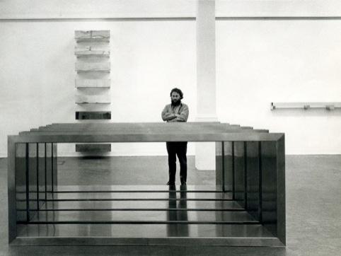 Donald Judd at Whitechapel Gallery, 1970