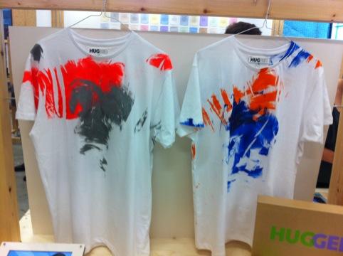 Hannah M Bischof, Hugged t-shirts