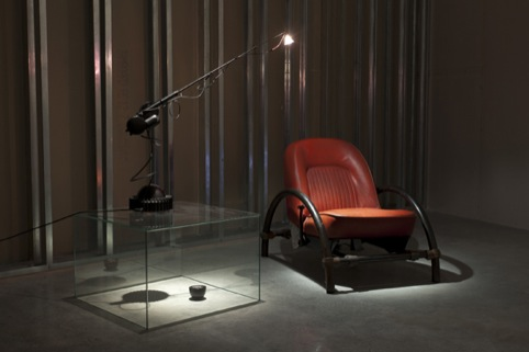 In Reverse Installation Image showing Aerial Light (1981) and The Rover Chair (1981)