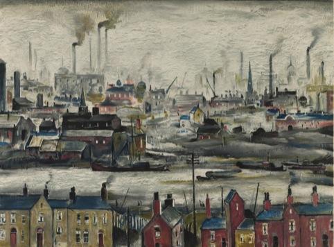 L.S. Lowry, Industrial Scene, c.1946-7