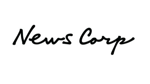 The new News Corporation logo - based on Rupert Murdoch's handwriting