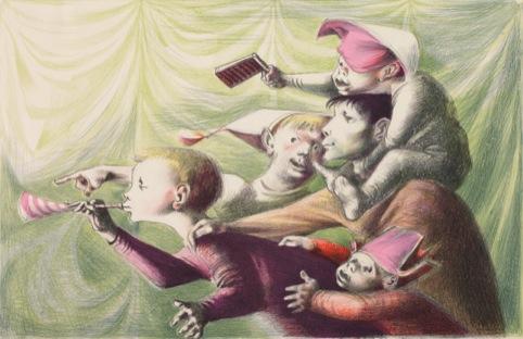Michael Ayrton, The Spectators, c.1949-51