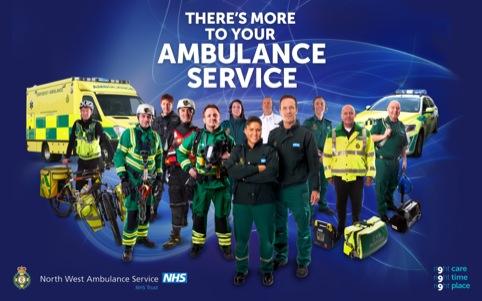 North West Ambulance Service campaign