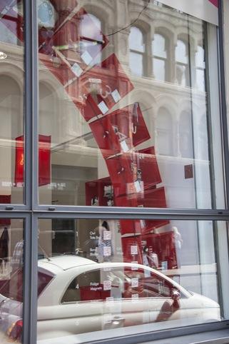 Poundshop Window display.