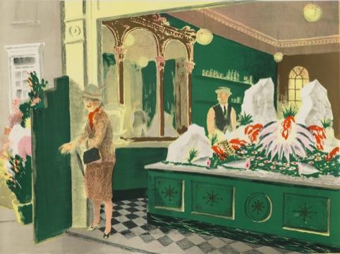 Robin Darwin, The Fishmongers Shop, c.1949-51