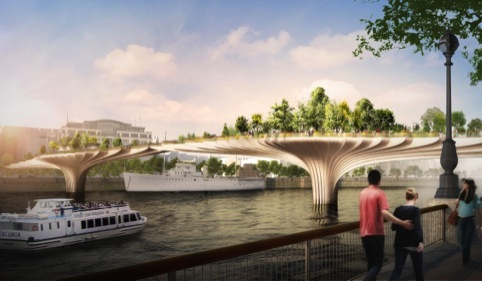 Southbank impression by Thomas Heatherwick Studio