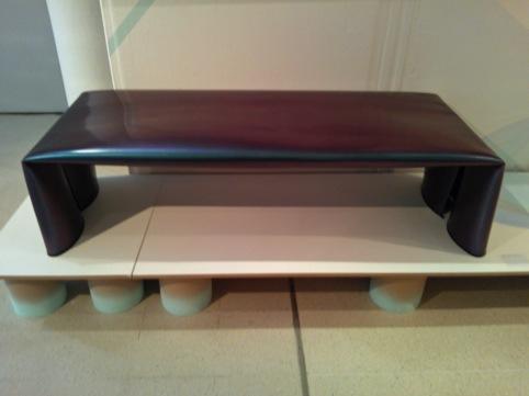 Nicholas Gardner and David Horan's rolled-steel bench