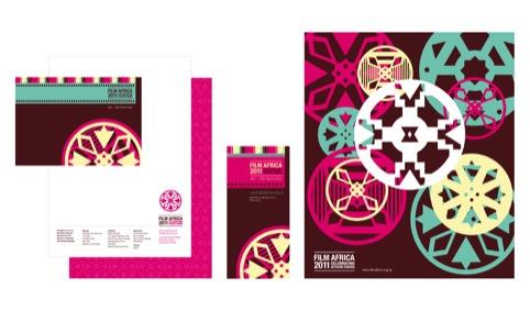Film Africa print materials