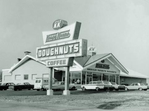 Krispy Kreme in the past
