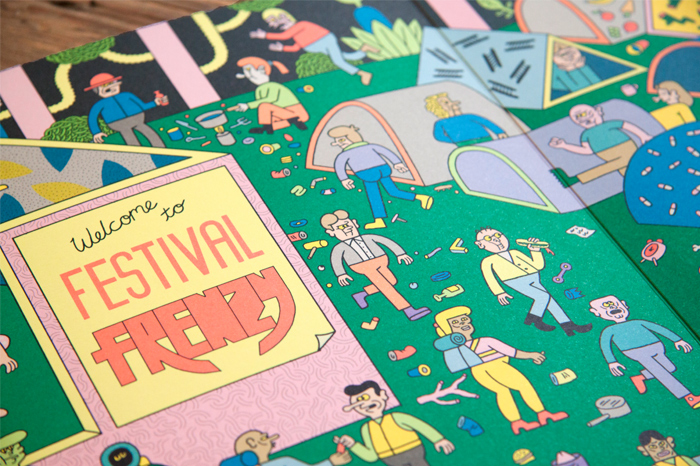 Festival Frenzy by Kyle Platts