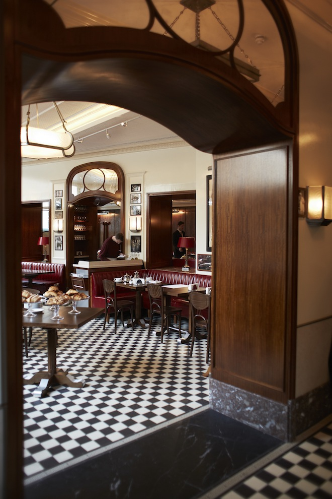 London restaurant Colbert was designed by David Collins and opened last year