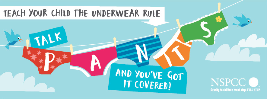 NSPCC Underwear Rule campaign